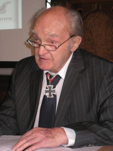 Vortrag mit Günter Halm, jüngster Ritterkreuzträger des Afrikakorps